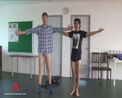 Half-Monty with Adrian Pang