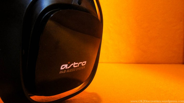 Close Up of Astro A40 Speaker Tag