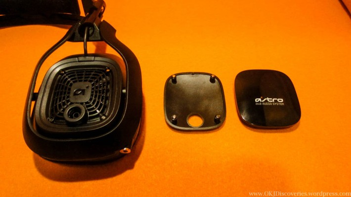 Astro A40 Speaker Tags Taken Out Of Ear Cups