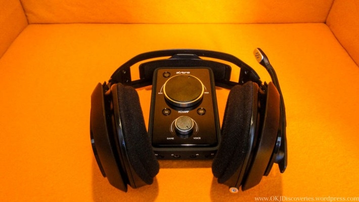 Shot of Astro A40 with MixAmp Pro