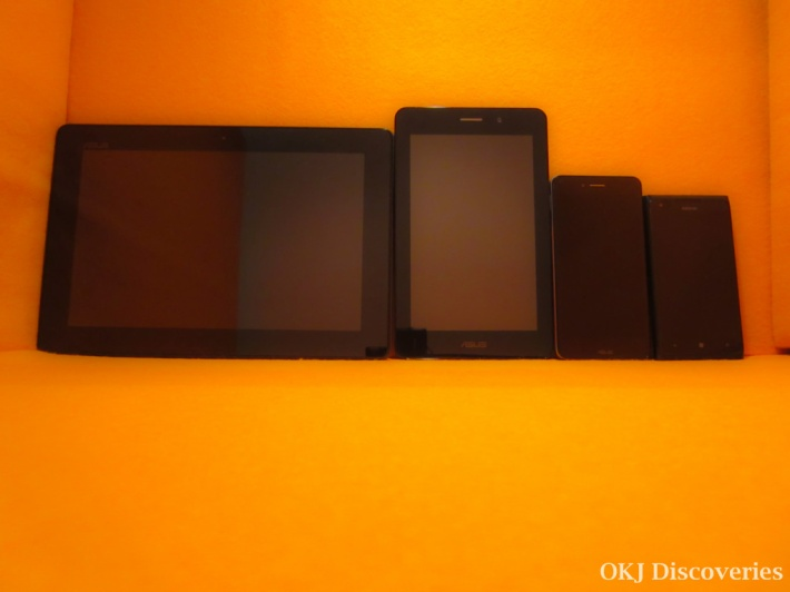 How to Choose the Size of Your Smartphone or Tablet - The Orange