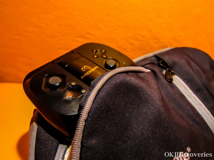 Moga Pocket Controller In Bag
