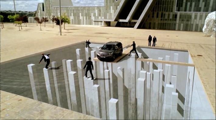 3D False Floor Honda Credit: Tracy Lee Stum