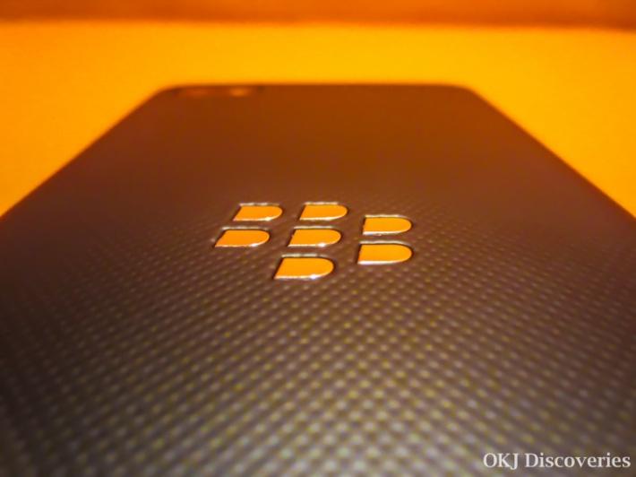 BlackBerry Z10 Back Close Up