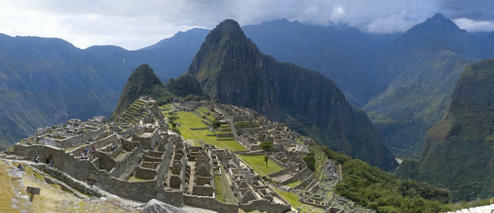 Machu Picchu Panorama (16 Gigapixels) Credit: Jeff Cremer Click to view full Panorama