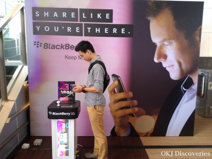 OKJ at BlackBerry Z30 Launch (5)