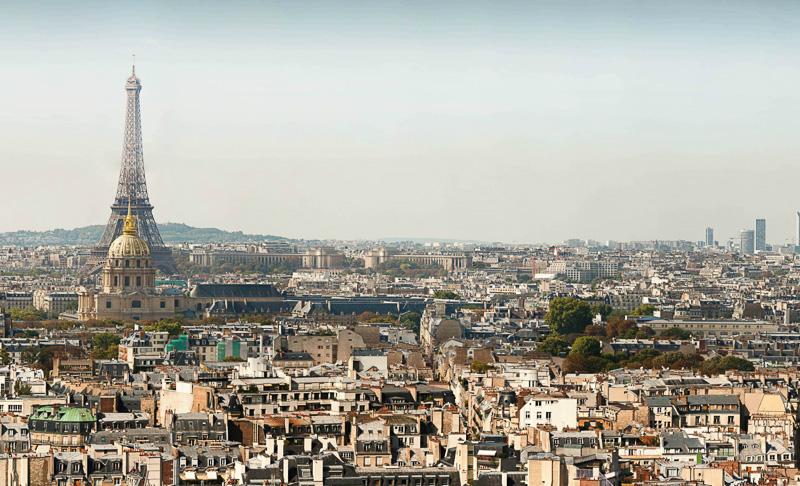 Everest Panorama Gigapixel Paris Panorama 26 Gigapixels