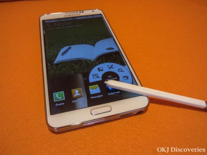 Samsung Galaxy Note 3 Air Command