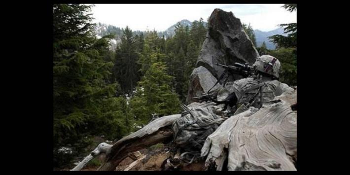 Soldier Camouflage Rock (Credit: the Brigade)