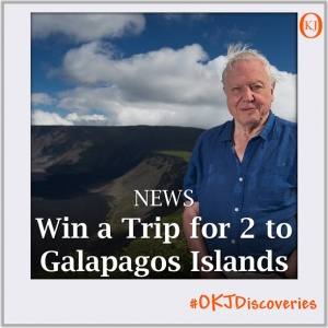 Win a Trip for 2 to Galapagos Islands Featured Image