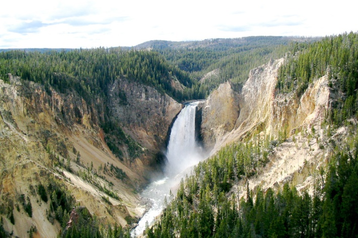 Yellowstone National Park Panorama (110 Gigapixels) Credit: Alfred Zhao Click to view full Panorama