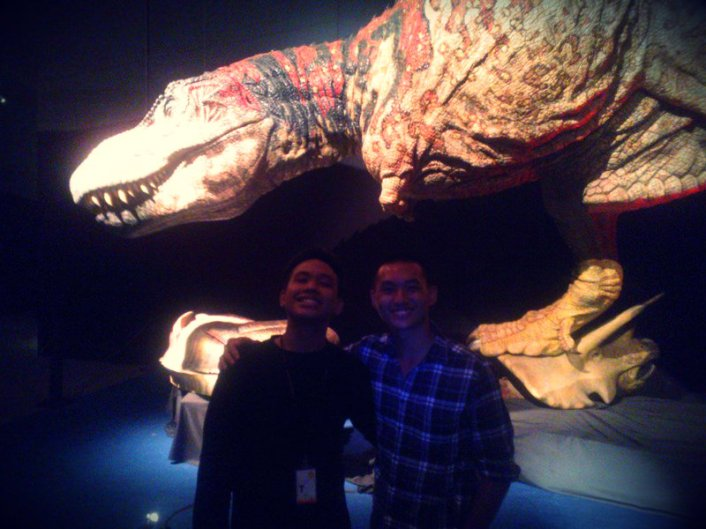 The whole experience was made more awesome thanks to the awesome exhibition guide who followed me all the way! *He didn't know I was reviewing the place till the end! Lucky to have met a fellow dinosaur enthusiast